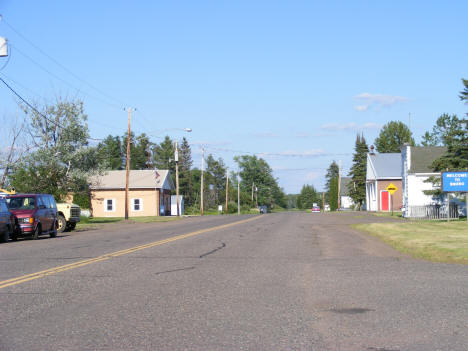 View of Downtown Bruno Minnesota, 2007
