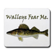 Walleye Fear Me Mousepad