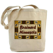 Brainerd Loon Tote Bag