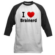 I Love Brainerd Baseball Jersey