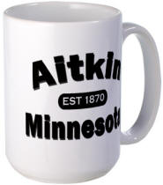 Aitkin Established 1870 Large Mug