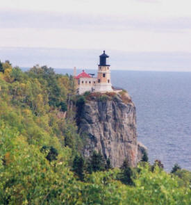 Lighthouse at Split Rock Lighthouse State Park