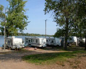 Fish Lake Campgrounds, Mora Minnesota