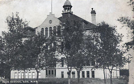High School, Ada Minnesota, 1909