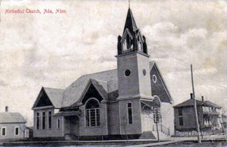 Methodist Church, Ada Minnesota, 1910