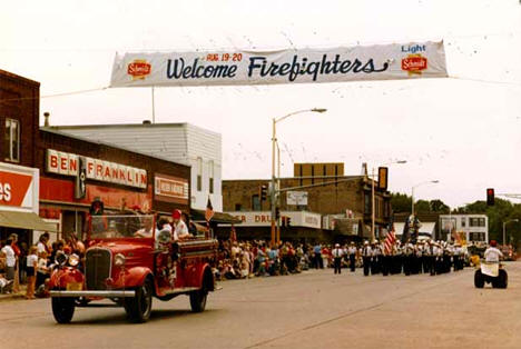 Aitkin Fire Department centennial celebration, Aitkin Minnesota, 1983