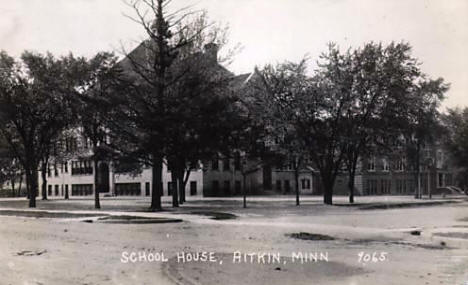 School House, Aitkin Minnesota, 1945