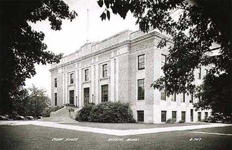 Aitkin County Courthouse, Aitkin Minnesota, 1948