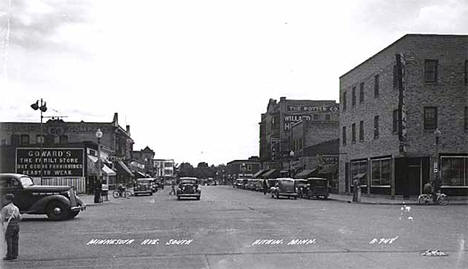 Minnesota Avenue South, Aitkin Minnesota, 1948