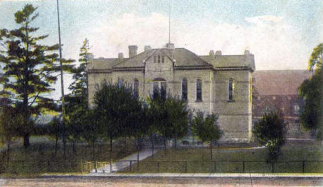 Aitkin County Courthouse, Aitkin Minnesota, 1908