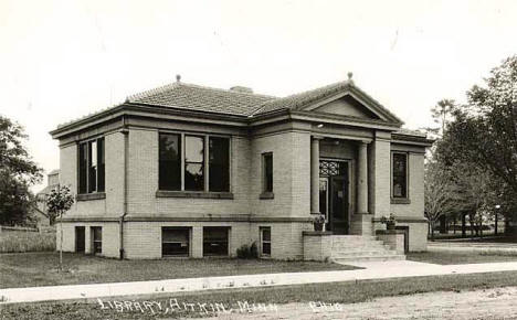 Public Library, Aitkin Minnesota, 1920