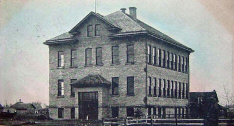 Akeley High School, Akeley Minnesota, 1910