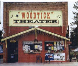 Woodtick Theatre, Akeley Minnesota