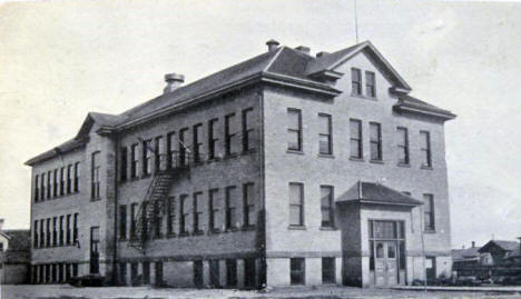 High School, Akeley Minnesota, 1918