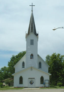 Our Lady of the Pines Catholic Church, Akeley Minnesota