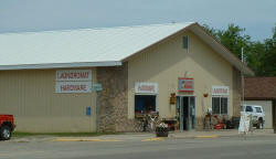 Akeley Hardware & Laundromat, Akeley Minnesota