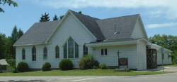 United Methodist Church, Akeley Minnesota
