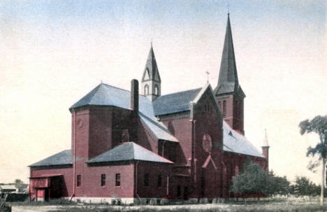 Catholic Church, Albany Minnesota, 1920's?