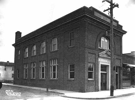 Stearns County State Bank, Albany Minnesota, 1925