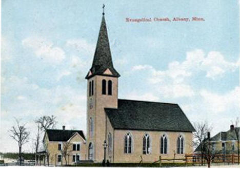 Evangelical Church, Albany Minnesota, 1911