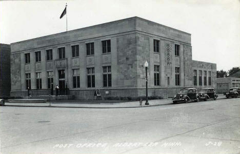 Post Office, Albert Lea Minnesota, 1930's