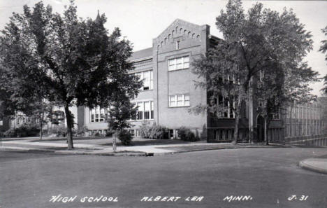 High School, Albert Lea Minnesota, 1948
