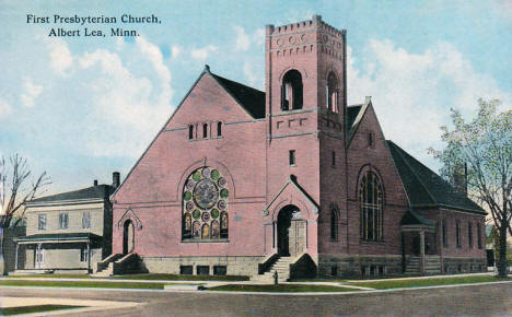 First Presbyterian Church, Albert Lea Minnesota, 1910's