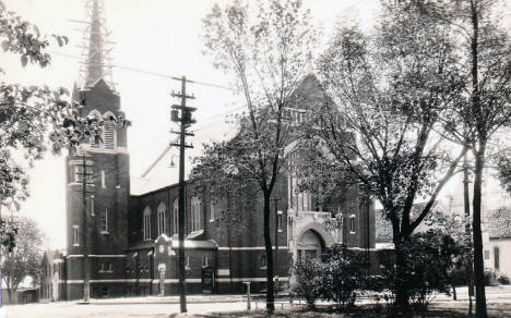 First Lutheran Church, Albert Lea Minnesota, 1920's