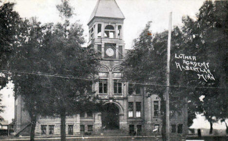 Luther Academy, Albert Lea Minnesota, 1911