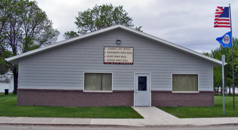 Alberta City Office, Alberta Minnesota, 2008