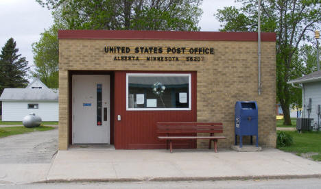 Post Office, Alberta Minnesota, 2008