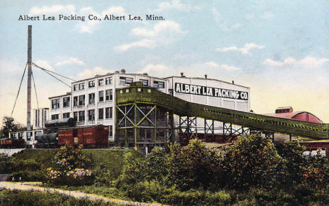 Albert Lea Packing Company, Albert Lea Minnesota, 1910's