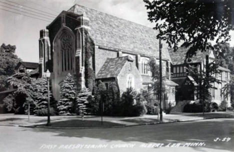 First Presbyterian Church, Albert Lea Minnesota, 1940's