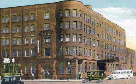 Hotel Albert Lea Minnesota 1931