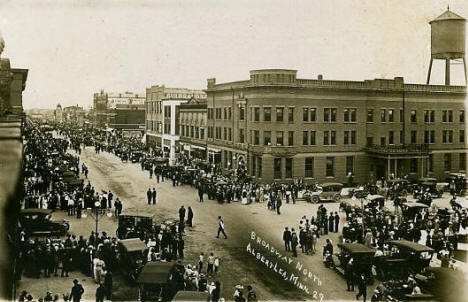 Broadway North, Albert Lea Minnesota, 1915