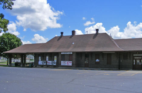 Former Train Depot, Albert Lea Minnesota, 2010