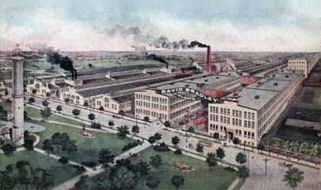 David Bradley Plow Factory, Albert Lea Minnesota, 1910's
