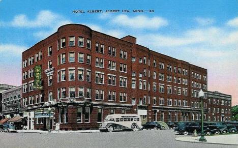 Hotel Albert Lea Minnesota 1940 S