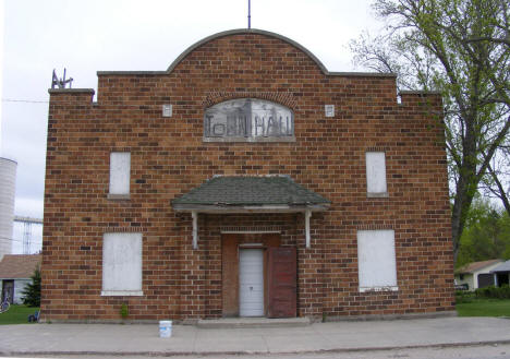 Old Town Hall, Alberta Minnesota, 2008