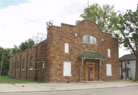 Old Town Hall, Alberta Minnesota, 2006