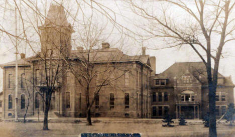 School Buildings, Albert Lea Minnesota, 1910's?