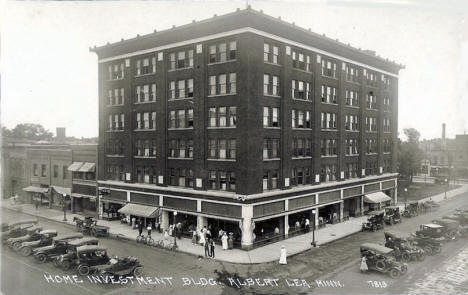 Home Investment Building, Albert Lea Minnesota, 1920's