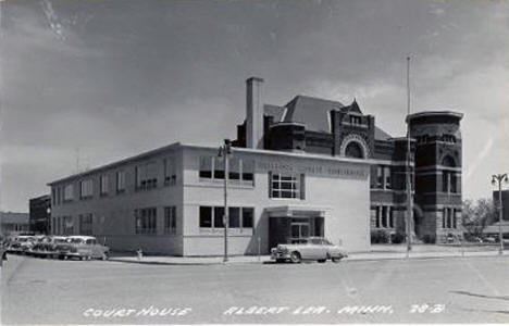 Courthouse, Albert Lea Minnesota, 1950's