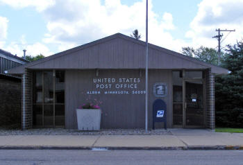 US Post Office, Alden Minnesota