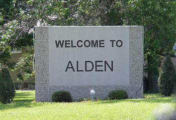 Welcome to Alden Minnesota!