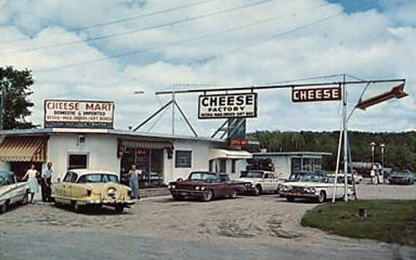 Cheese Factory, Aldrich Minnesota, 1950's