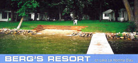 Berg's Resort on Lake Le Homme Dieu near Alexandria Minnesota