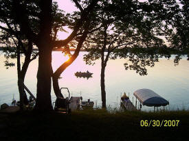 Cottage Grove Resort on Lake Andrew near Alexandria Minnesota