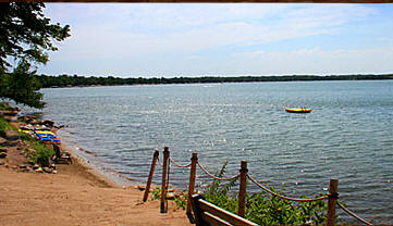 Woodland Resort on Lake Miltona near Alexandria Minnesota