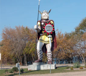 Viking Statue in Alexandrai Minnesota